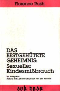 Rush, Florence (1984): Das bestgehütete Geheimnis : sexueller Kindesmißbrauch. 2. Aufl. - Berlin : Sub-Rosa-Frauenverl., S. 26 (FMT-Signatur: SE.05.004-1984).