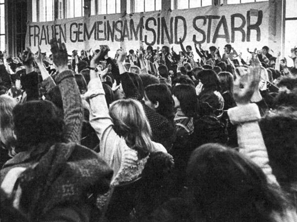 Bundesfrauenkongress, Quelle: EMMA-Archiv, © Inge Werth
