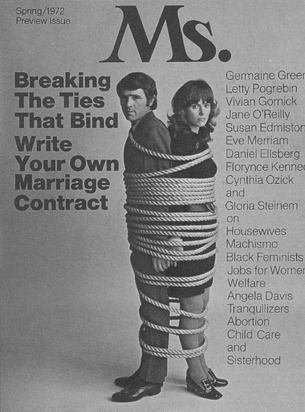 Ms. magazine. Vorabausgabe Frühjahr 1972 (FMT-Signatur: Z-A006)