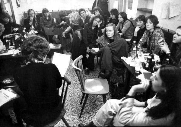 Frauenzentrum Frankfurt am Main, 1973, Foto: Abisag Tüllmann, Bildnachweis: Bildarchiv Preussischer Kulturbesitz - Abisag Tüllmann Archiv