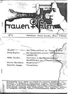 Frauen und Film, Nr. 1/1974, Redaktion Helke Sander