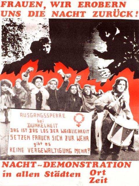 Plakat: Walpurgisnacht, undatiert (FMT-Signatur: PT.042)