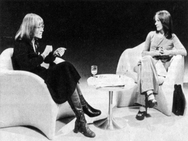 Schwarzer & Vilar; Bild: WDR, 1975