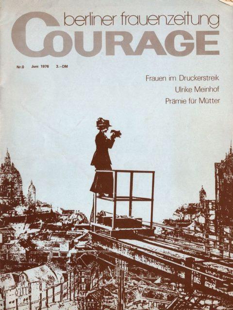 Erstausgabe der Courage (FMT-Signatur: Z-Ü104)