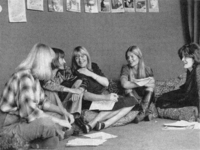 EMMA-Redaktion 1977, Bildquelle: EMMA-Archiv