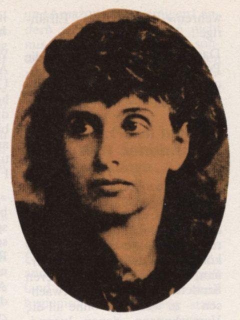Hedwig Dohm, Abbildung aus EMMA 2/1977, S. 54