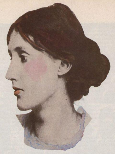 Virgina Woolf, Abbildung aus EMMA 1/1977, S. 53
