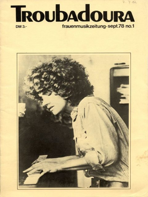 Erstausgabe der Troubadoura September 1978 (FMT-Signatur: Z-F012)