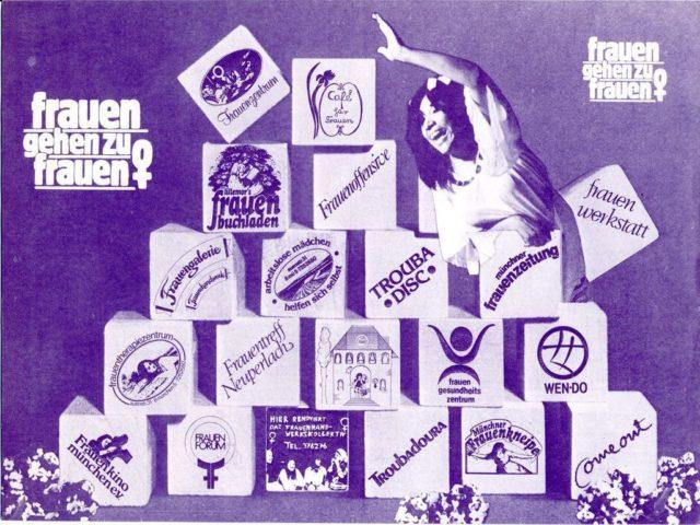 Flugblatt: Frauen gehen zu Frauen (Detail), München (FMT-Signatur: FB.01.078)