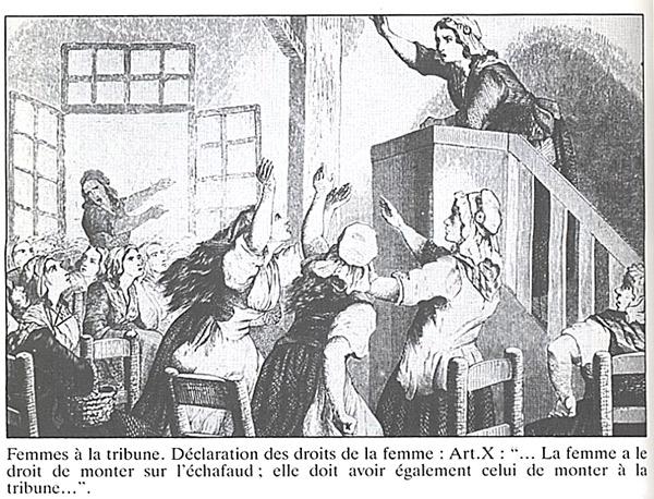 Quelle: Gouges, Olympe de (1986): Oeuvres. - Groult, Benoîte [Hrsg.] [Einl.]. Paris: Mercure de France, 238 S. [FE.06.053]