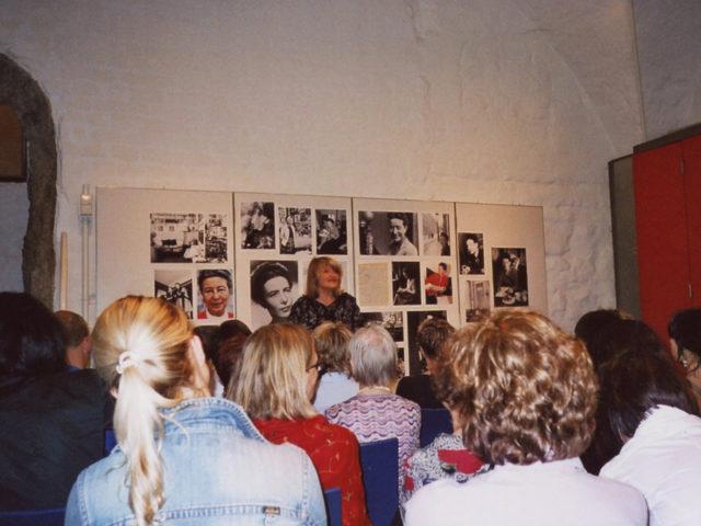 Beauvoir Fotoausstellung im Turm