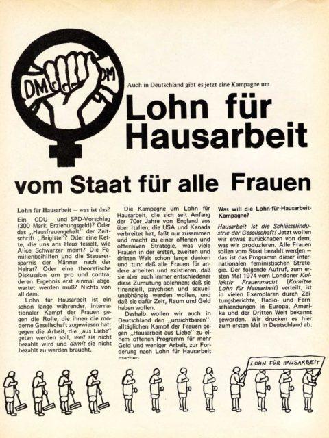 In: Courage, 1977, Nr. 3, S. 16. http://library.fes.de/courage/pdf/1977_03.pdf © Bibliothek der Friedrich-Ebert-Stiftung, Bonn