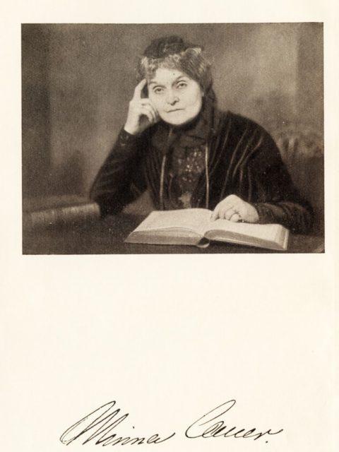 Lüders, Else (Hrsg.): Minna Cauer. Leben und Werk. Gotha: 1925, Frontispiz. (BG.03.CAUE.003)