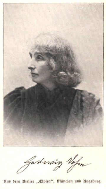 Plothow, Anna: Die Begründerinnen der deutschen Frauenbewegung - 4. Aufl., Leipzig: Friedrich Rothbarth, 1907, nach S. 138 (FE.08.104).