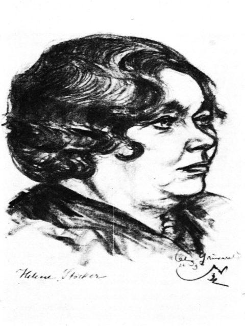 Rantzsch, Petra: Helene Stöcker (1869 - 1943) : zwischen Pazifismus und Revolution - 1. Aufl. - Berlin : Buchverl. Der Morgen, 1984, Bildteil S. 1 [BG.03.STOECK.001]