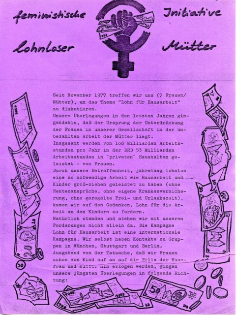 Flugblatt [o.J.] (siehe Pressedokumentation: PD-AR.07.02)