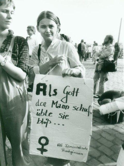© Erika Sulzer-Kleinemeier, Katholischer Kirchentag 1982, AG Feministische Theologinnen (FMT-Signatur: FT.12.104)
