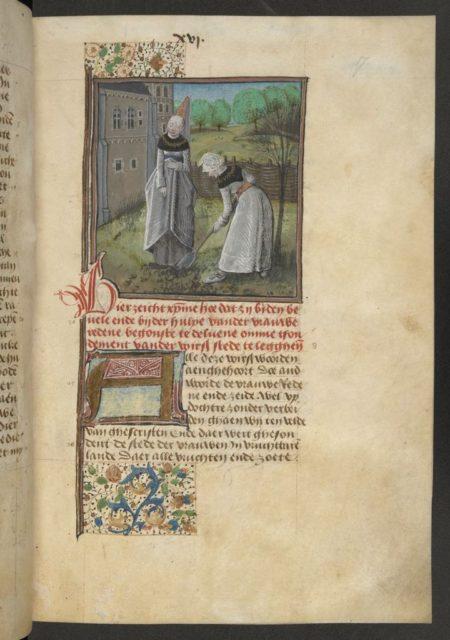 Quelle: The British Library, Add. MS 20698, fol. 17r, URL: https://www.bl.uk/catalogues/illuminatedmanuscripts/ILLUMIN.ASP?Size=mid&IllID=36617