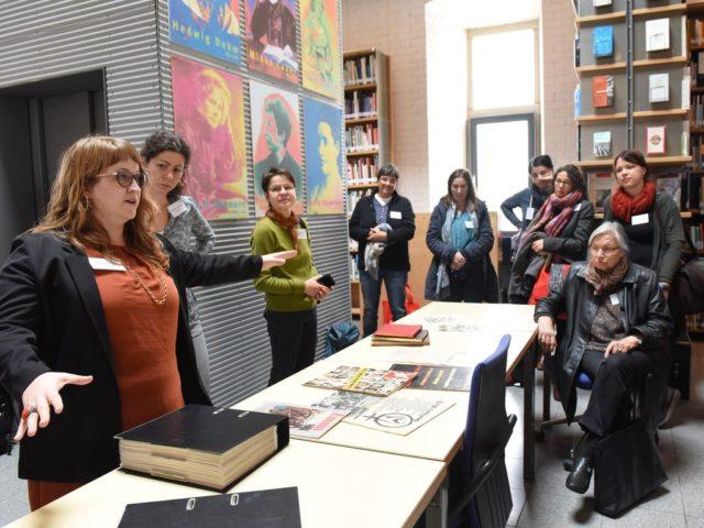 ida Tagung Jasmin Schenk Fuehrung FMT Archiv