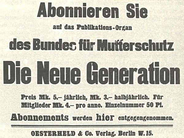 Quelle: Bundesarchiv Koblenz, NL173, Schreiber34