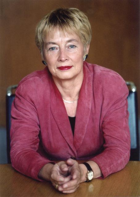 Christine Bergmann, Quelle: EMMA-Archiv