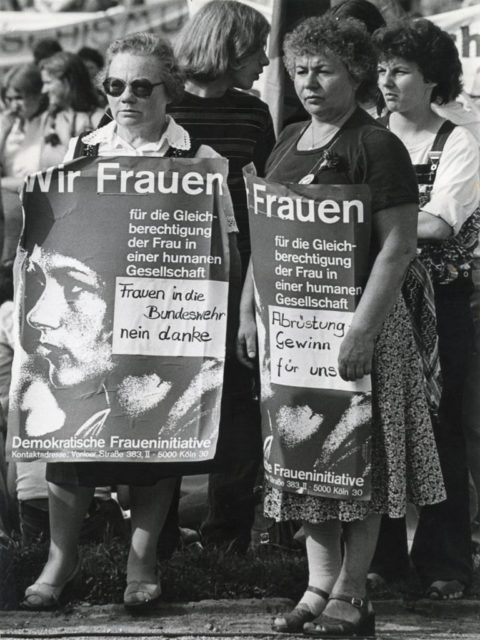 © Brunhilde Hüring, Demonstration der Demokratischen Fraueninitiative in Dortmund, 01.09.1979 (FMT-Signatur: FT.02.0334)