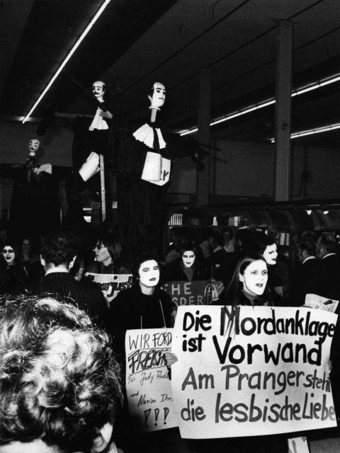 © Isolde Ohlbaum, Demonstration gegen Ihns/Anderson-Prozess, 1974