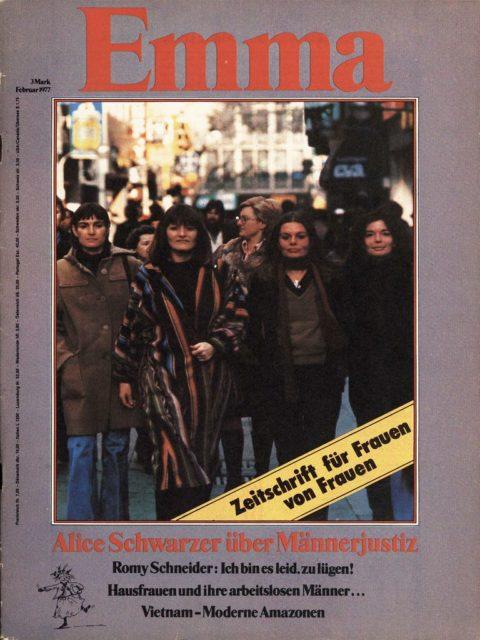Erste EMMA, 26. Januar 1977, Externer Link: EMMA-Lesesaal