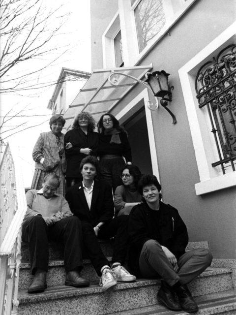 """Eröffnung """"Feministisches Archiv und Dokumentationszentrum in Frankfurt, 22.03.1984 (FMT-Signatur: FT.02.0255)"""
