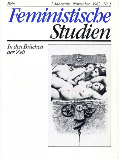 Feministische Studien, Nr. 1, 1982 (FMT-Signatur: Z-F015)