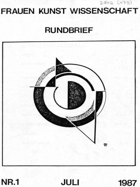 Frauen, Kunst, Wissenschaft : Halbjahreszeitschrift. - Marburg: Jonas-Verlag. (FMT-Signatur: Z-F042: 1987-1))