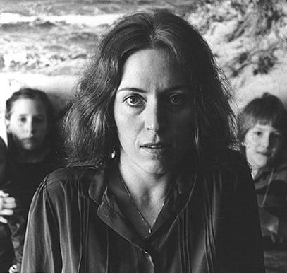 Karin Struck, 1975, © Adolf Clemens