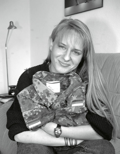 Tanja Kreil, 1997 Photo: EMMA-Archiv