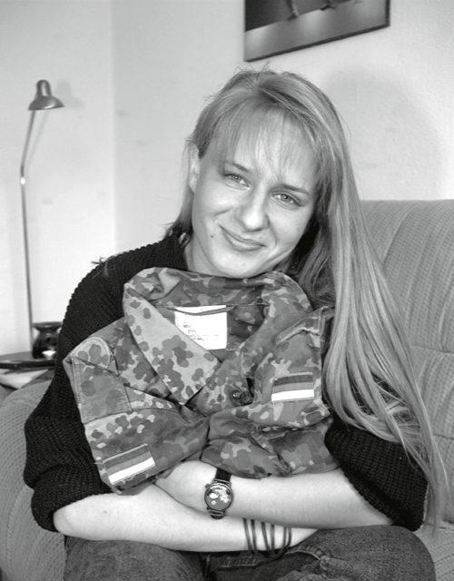 Tanja Kreil, 1997 Bild: EMMA-Archiv