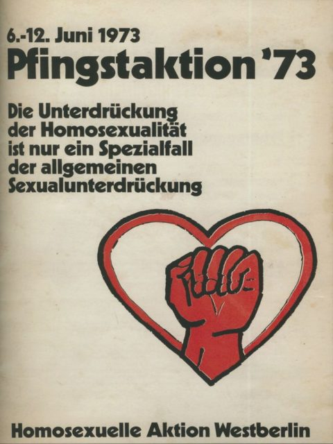 Plakat Pfingstaktion 1973