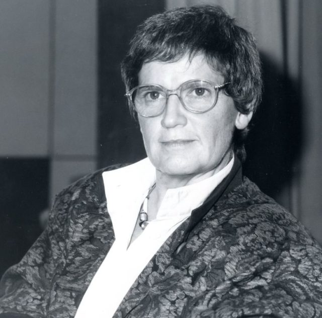 © Bettina Flitner, Rita Süssmuth, 1987 in Köln (FMT-Signatur: FT.02.2237)