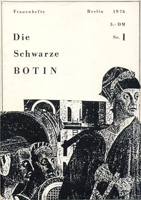 Schwarze Botin, Nr. 1, 1976, FMT-Signatur: Z-Ü108