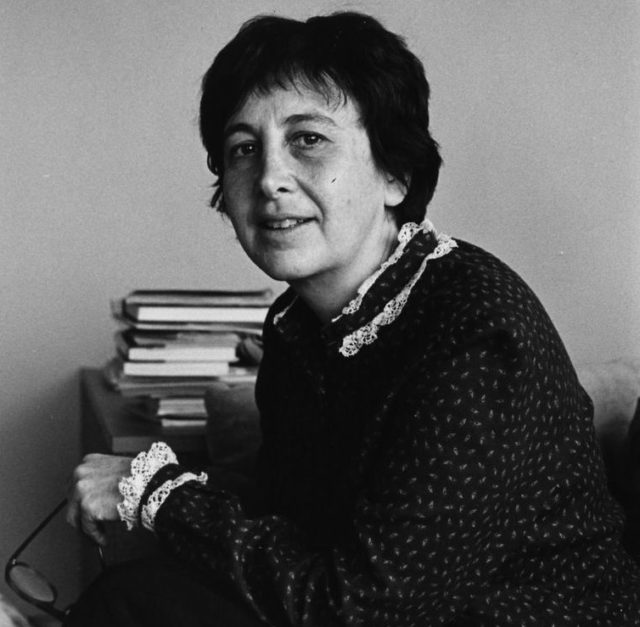 Susan Brownmiller, New York 1986 © Bettina Flitner (FMT-shelfmark: FT.02.664)