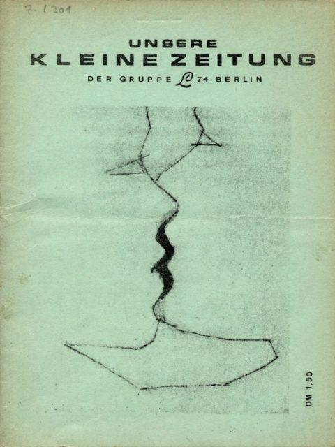 UKZ : unsere kleine Zeitung von und für Lesben. Gruppe L 74 [Hrsg.], 1975. (FMT-Signatur: Z-L301)