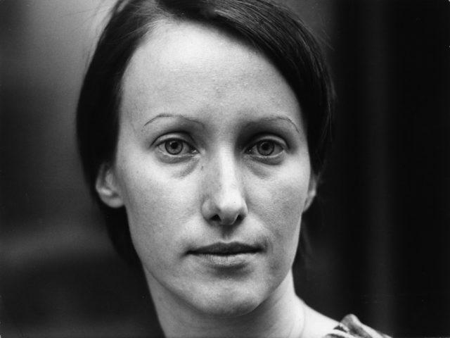 Verena Stefan, 1979, Bildquelle: EMMA-Archiv, Foto: Otfried Schmidt