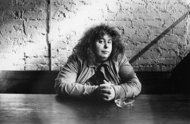 © Bettina Flitner: Andrea Dworkin, 1986
