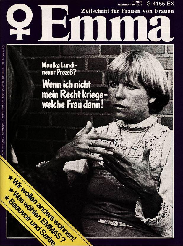 Monika Lundi, EMMA, Nr. 9, 1980, Externer Link: EMMA-Lesesaal