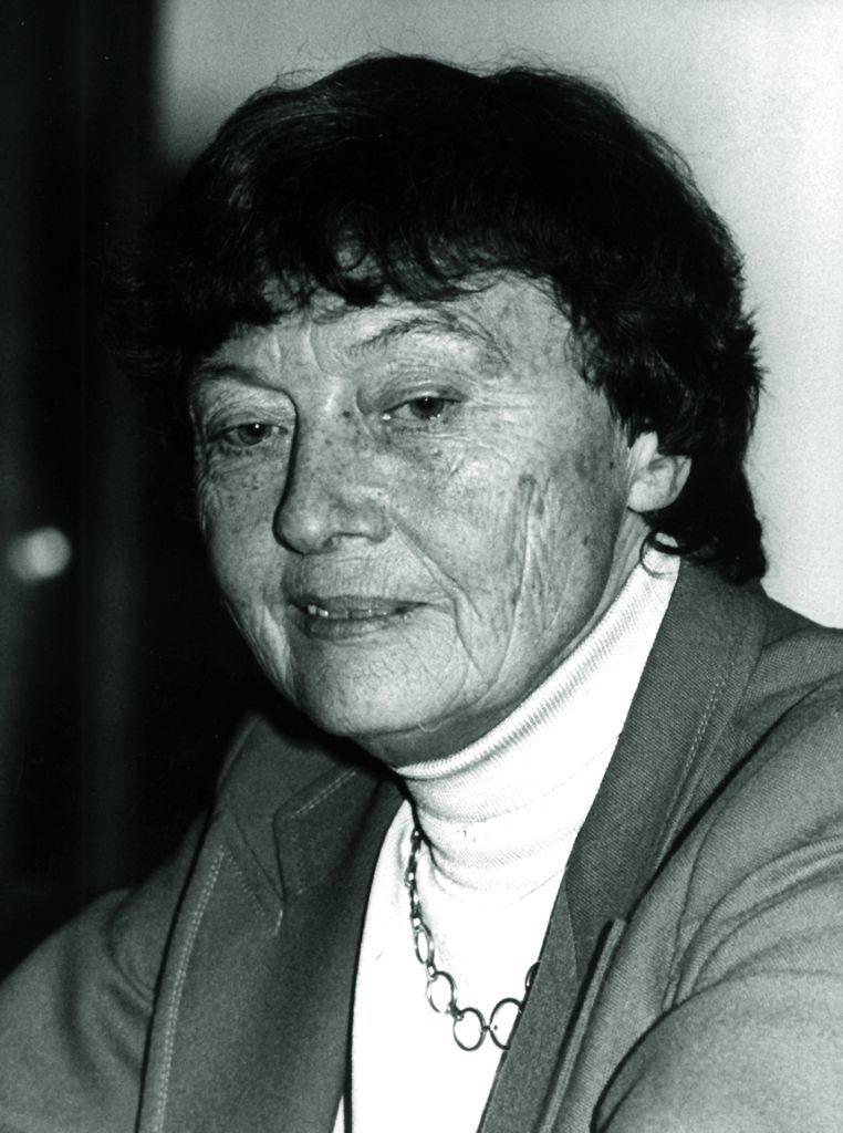 Prof. Elisabeth Trube-Becker, Bild: EMMA-Archiv