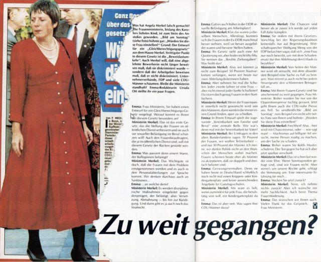 Externer Link: EMMA 4/1992, S.42 f.