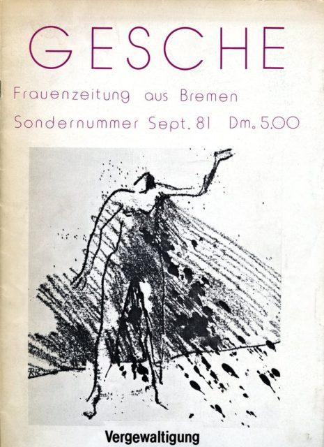Gesche : Frauenzeitung aus Bremen, Sondernummer, September 1981 (FMT-shelfmark: Z104)