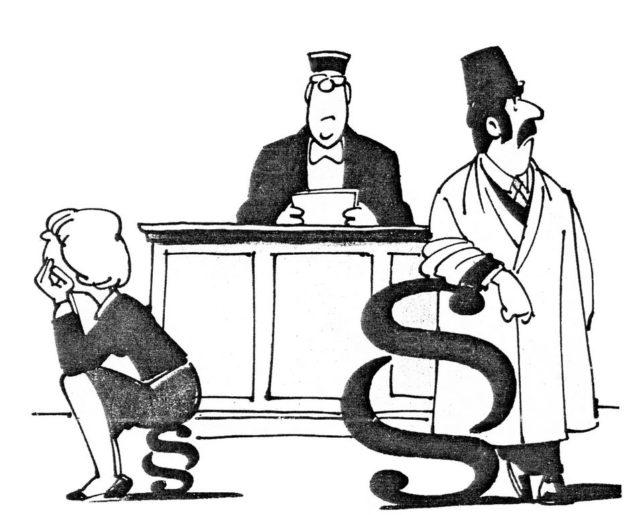 Karikatur in Frauenzeitung, 1983, Quelle: Hexengewitter, 08.03.1983, S.12 (FMT-Signatur: Z112)