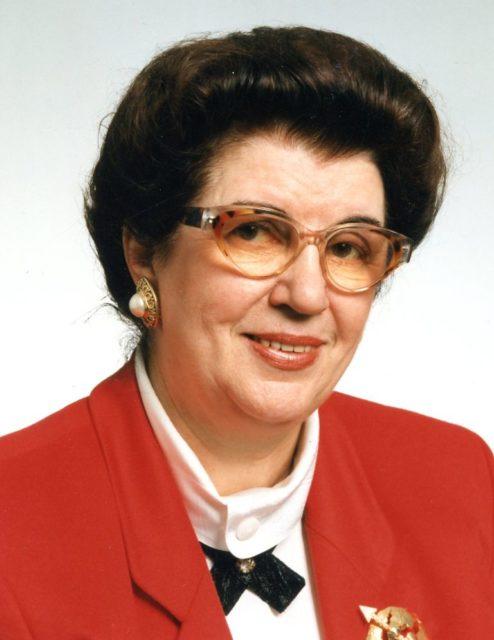 Juristin Lore Maria Peschel-Gutzeit, Quelle: EMMA-Archiv