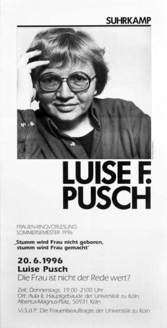 Plakat Veranstaltungsankündigung, 1996 (FMT-Signatur: PT.1996-01)