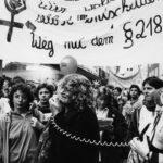 Demonstration gegen den Paragraphen 218 in Aachen, 1986, Copyright: FMT (Signatur: FT.02.089)