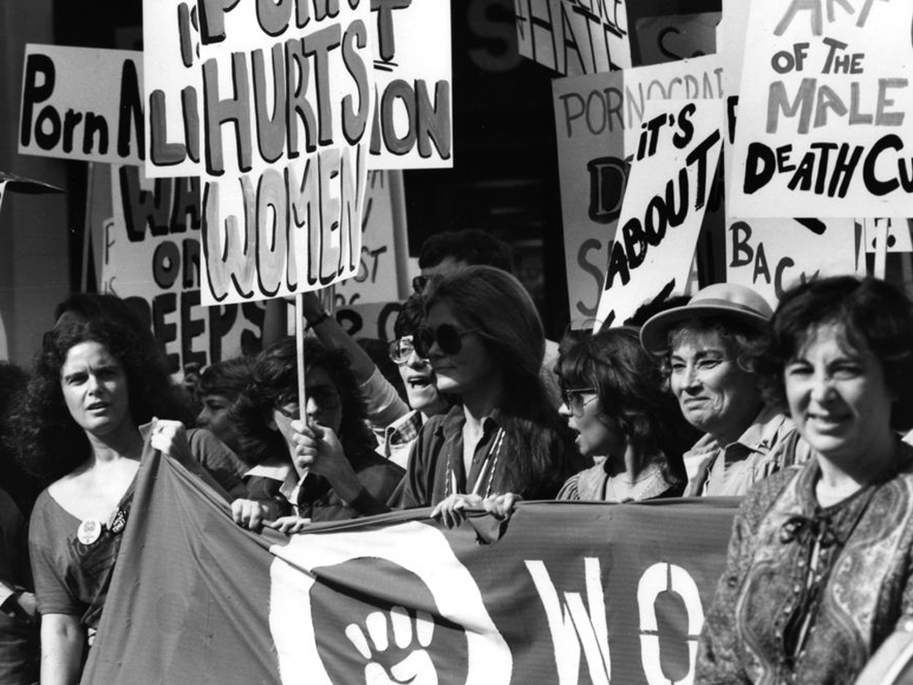 Women Against Pornography March on Times Square 20. Oct. 79, N.Y.C. (FMT-Signatur: FT.02.1899)